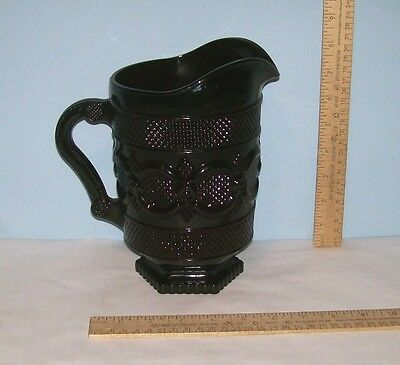 AVON Cape Cod Pitcher - Ruby Red 1876 Cape Cod Collection - 46 oz Glass Pitcher