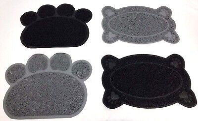 New Paw Pet Feeding Mat, Dish/Bowl Place Mat PVC Dog/Puppy/Cat/Kitten Food Mat