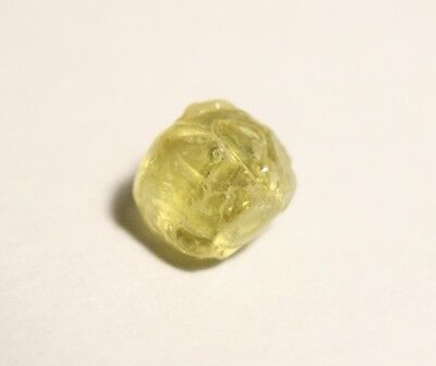 Mali Garnet 2ct Facet Rough - Flawless Lime Green Piece