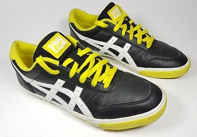 Onitsuka Tiger black leather trainers uk 6 eu 39