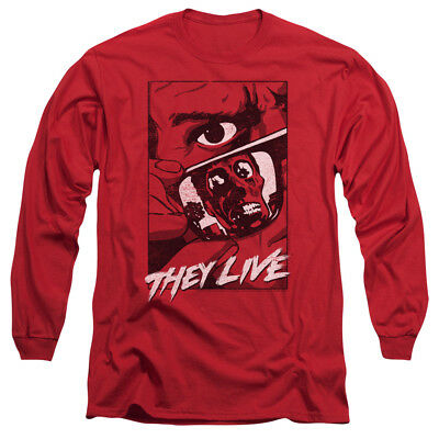 They Live John Carpenter Movie POSTER Licensed Adult T-Shirt All Sizes