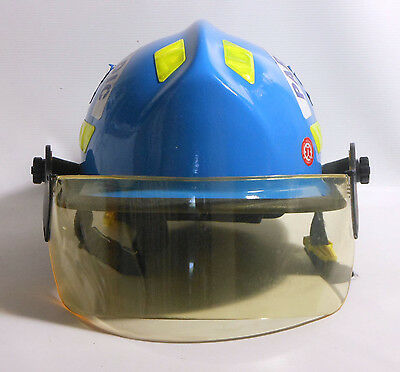Cairns Commando HP3 Helmet Fire and Rescue/EMS, model: C-Mod-Blue | Made in USA
