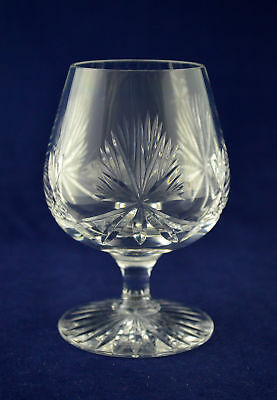 "Edinburgh Crystal ""STAR OF EDINBURGH"" Brandy Glass – 12cms (4-3/4″) Tall – 1st"