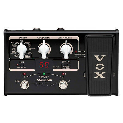 VOX STOMPLAB2G SL2G Modeling Guitar Multi-Effects Pedal