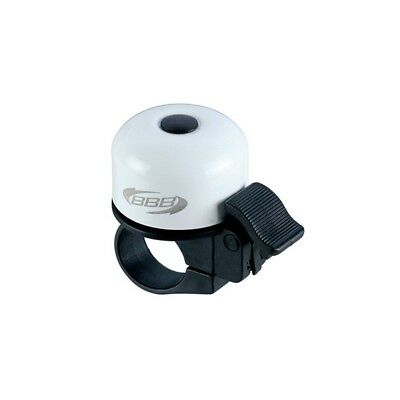 Timbre bicicleta BBB Loud & Clear Blanco BBB-11 Bicycle Bell