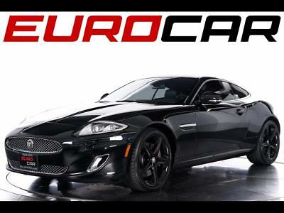 2012 Jaguar XK Base Coupe 2-Door 2012 Jaguar XK - Striking Black Wheels & Chrome Exterior Trim