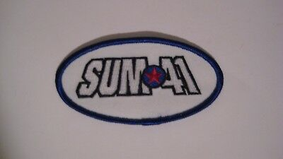 Sum 41 Star Oval Embroidered Iron On Patch pop punk metal alternative metal