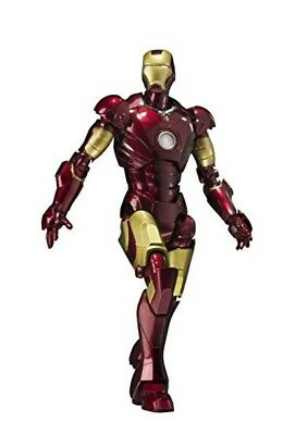 New Bandai S.H.Figuarts Iron Man Mark 3 Action Figure 6.1in JAPAN Free Shipping