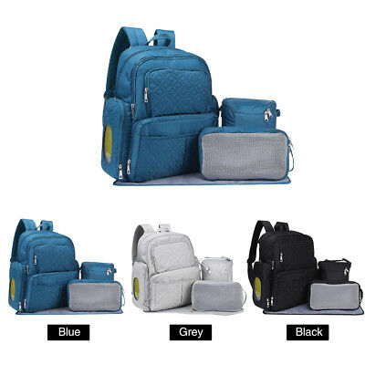Diaper Bag Nappy Mummy Backpack Baby Newborn Tote Maternity Stroller Bag 3Colors