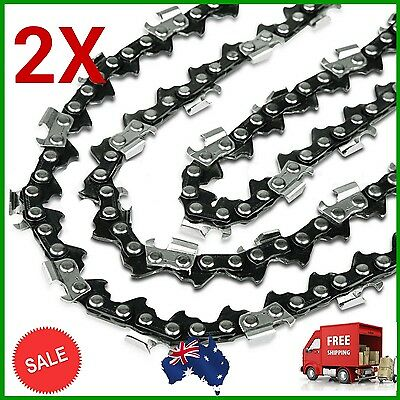 2x Chainsaw Chains 22 inch 86 Links DL.325 Pitch .058 Saw Spare Mower Saw Part
