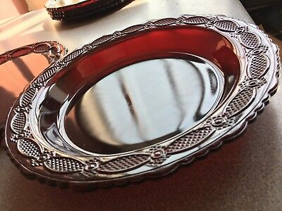Huge Lot  Avon Ruby Red Cape Cod Dishes Set 106 Pieces Beautiful Set. (BB)