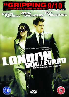 London Boulevard NEW PAL DVD C. Farrell Keira Knightley