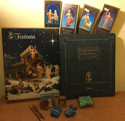 Fontanini Collectors' Items - Binders, Story Cards, Temple Table & Accessories