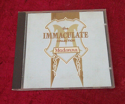 MADONNA - THE IMMACULATE COLLECTION CD GREATEST HITS / VERY BEST OF) - Germany