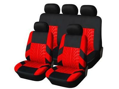 Vauxhall Corsa Sxi (06-) Oxford Luxury Full Seat Cover Set Red