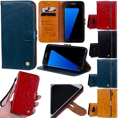 For Samsung Galaxy Series Luxury Flip Leather Magnetic Wallet Card Case Cover