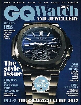 GQ UK Watch And Jewellery 2017 THE STYLE ISSUE Trends BULOVA Franc Muller @NEW@