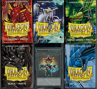 Dragon Shield Small Sleeves Japanese Matte, Passend unter anderem für Yu-Gi-Oh