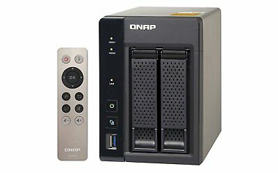 QNAP TS-253A-8G 2 Bay NAS Enclosure with 8GB RAM