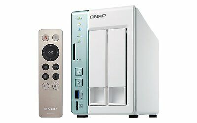 QNAP TS-251A-4G 2 Bay Desktop Network Attached Storage Enclosure with 4 GB RAM