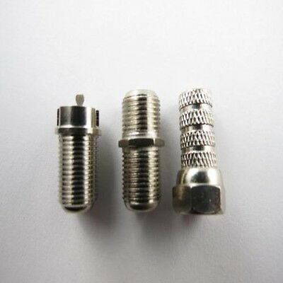 F Plug Connector Mounting Socket Antenna Plug Sat F Plug Coaxial Cable Tv