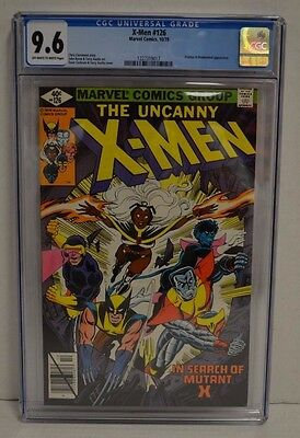 Uncanny X-Men #126 (Marvel, 1979) CGC 9.6 Comic Book Proteus & Mastermind S613