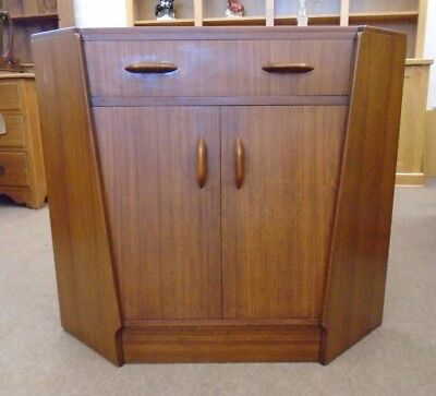 Vintage Retro Mid 20th Century Teak Corner Desk by G Plan - Delivery Available