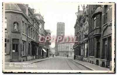 CPA Meench Menin Rue D'Ypres