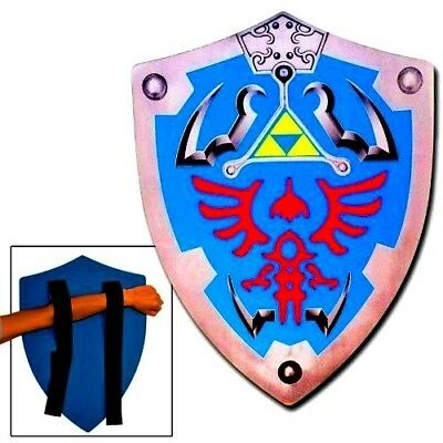 Legend of Zelda Link Hylian Hyrule Triforce Foam Shield LARP 56Y