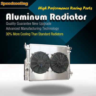 2789 3 ROW + Fan Shroud Aluminum Radiator For Ford Mustang V6 V8 2005-2014