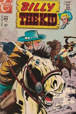 Billy the Kid #81 (Nov 1970, Charlton) The Cost Of Living!