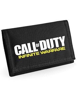 Call Of Duty Infinite Warfare Wallet - Choice Of Colour - Can Add Game Tag