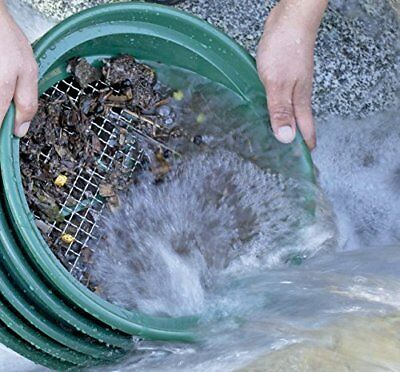 Excellent  CLASSIFIER SCREEN SIFTING PANS 4 YOUR GOLD PANNING  Easy to use NEW
