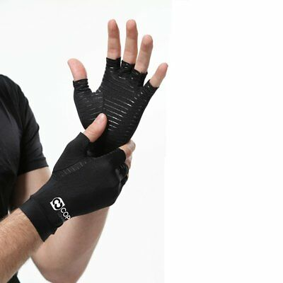 27dc21bfad Arthritis Gloves Copper Infuse Fit for Carpal Tunnel Computer 1 Pair Medium  Size