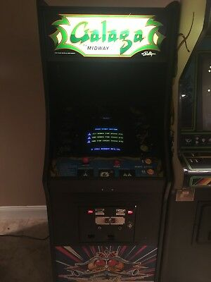 Galaga Commercial Upright Video Arcade Game