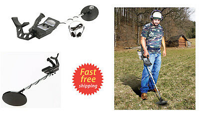 Waterproof Metal Detector Kit Deep Sensitive Bounty Hunter Coil Gold Search Set