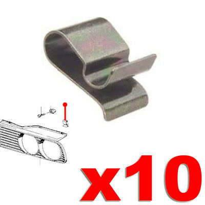 BMW E30 FRONT GRILLE TRIM CLIPS CLAMPS METAL SPRING CLIP HEADLIGHT TRIM 3 Series