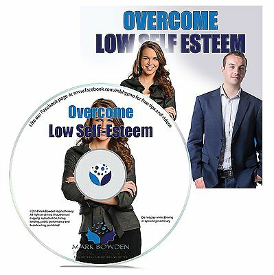Naturally Overcome Low Self Esteem Hypnosis CD Self Help