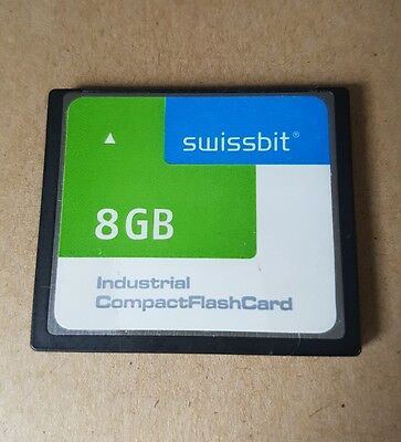 Swissbit 8 GB Industrial Compact Flash Card - Industrie Speicherkarte CF SLC