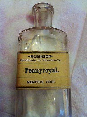 Pennyroyal Medicine Bottle, Memphis Tenn.