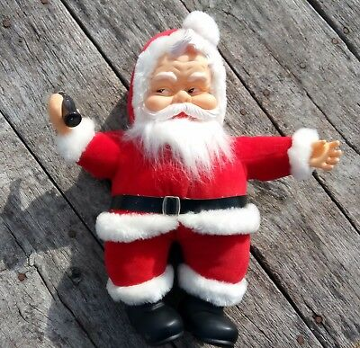 Vintage Santa Plush With Coca Cola Bottle- 1988- for RICH'S by Franchesca & Co -