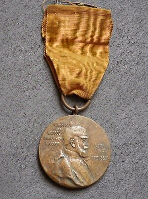 German Empire, Kingdom of Prussia, Original 1897 Centenary Medal with ribbon