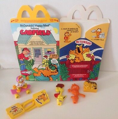 Vintage Collection Of Garfield Items