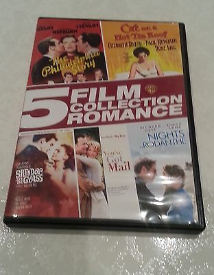 5 Film Collection: Romance (DVD, 2015, 5-Disc Set) - Great Films Region 1