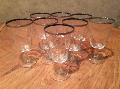 Cristal D'Arques PARISIENNE Water Goblets Made In France. Set Of 8