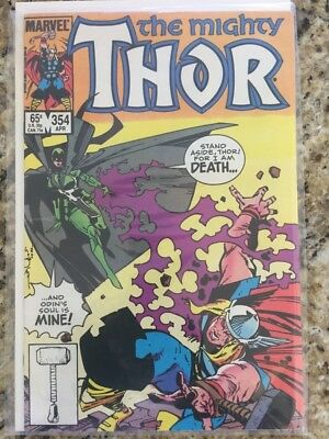 Thor #354 (April 1985 Marvel) Hela from the Movie