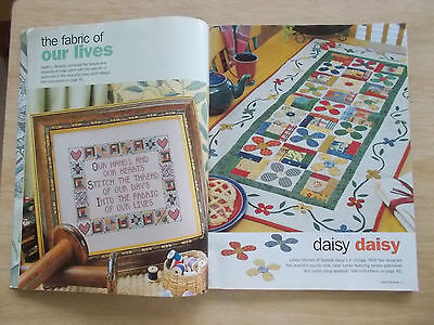 Handmade Vol 9 #1~Quilts~Baby Gifts~Dolls~Bear~Crochet~Cross Stitch~Embroidery