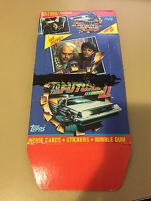 Back to the Future Part II - EMPTY MARKED CARD BOX - NO PACKS - SHIPPED FLAT