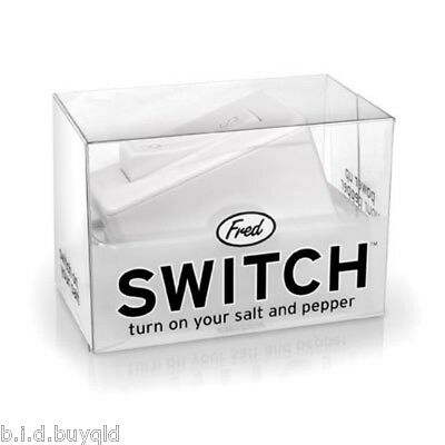 Salt and Pepper Shakers Switch by Fred