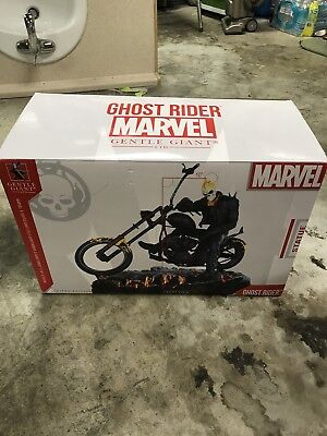 Limited Edition Gentle Giant Ghost Rider marvel comics Statue Rare